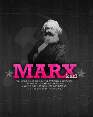 Politician Karl Marx - Obrázkek zdarma pro Nokia Asha 501
