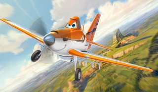 Planes 2013 Disney Dusty Crophopper Background for Android, iPhone and iPad