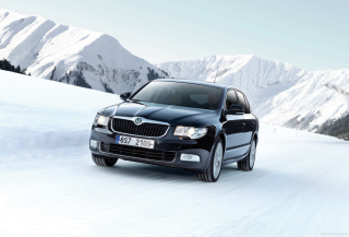 Skoda Superb Picture for Android, iPhone and iPad