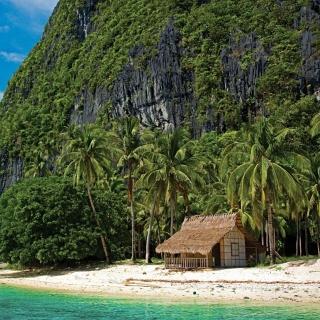 El Nido, Palawan on Philippines - Obrázkek zdarma pro 1024x1024