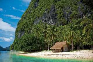 El Nido, Palawan on Philippines Background for Android, iPhone and iPad