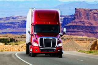 Truck Freightliner Background for Android, iPhone and iPad