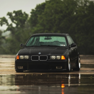 BMW E36 M3 - Obrázkek zdarma pro 208x208