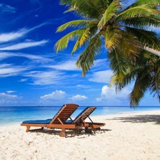 Luxury Resorts Maldives - Obrázkek zdarma pro 1024x1024