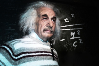 Albert Einstein Wallpaper for Android, iPhone and iPad