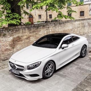 Mercedes Benz S Coupe - Obrázkek zdarma pro 1024x1024