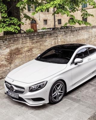 Mercedes Benz S Coupe - Obrázkek zdarma pro 640x960