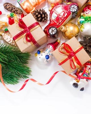 Christmas Tree Toys - Obrázkek zdarma pro 480x854