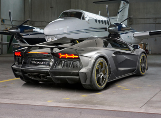 Lamborghini Aventador V12 LP1600 Mansory Background for Android, iPhone and iPad