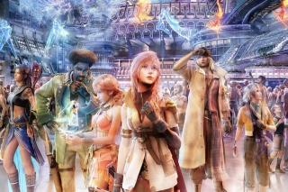 Final Fantasy XIV - Obrázkek zdarma pro 1366x768