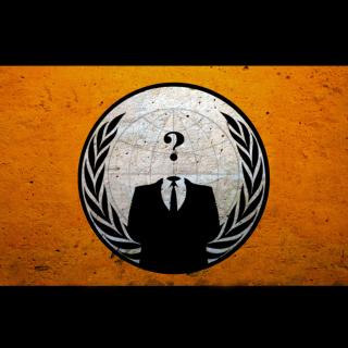 Anonymous Hacktivist - Obrázkek zdarma pro 320x320