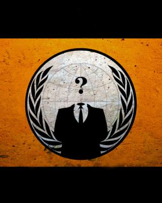 Anonymous Hacktivist - Obrázkek zdarma pro 768x1280