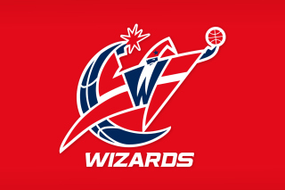 Washington Wizards Red Logo Background for Android, iPhone and iPad