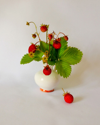 Wild Strawberrie - Obrázkek zdarma pro Nokia Lumia 925