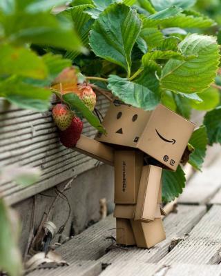 Amazons Mascot Danbo - Obrázkek zdarma pro Nokia C6