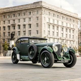 Bentley Speed Six 1930 - Obrázkek zdarma pro 1024x1024