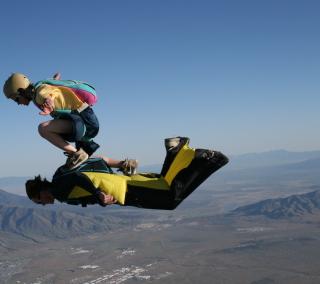 Skydiving - Obrázkek zdarma pro iPad mini 2