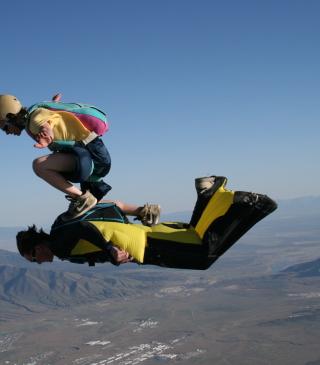 Skydiving - Obrázkek zdarma pro Nokia 300 Asha