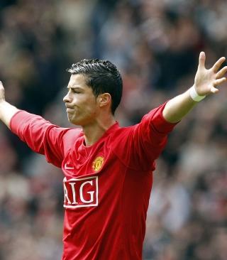 Cristiano Ronaldo, Manchester United - Obrázkek zdarma pro Nokia Asha 305