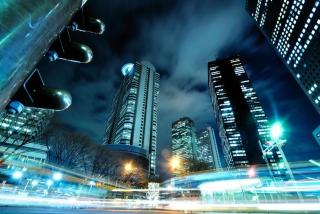 Skyscrapers In Tokyo - Obrázkek zdarma
