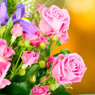 Spring bouquet of roses - Obrázkek zdarma pro 2048x2048