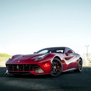 Ferrari F12 Red - Obrázkek zdarma pro iPad mini