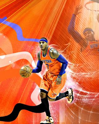 Carmelo Anthony NBA Player - Obrázkek zdarma pro Nokia C2-02
