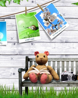 Clipart with Photos - Obrázkek zdarma pro Nokia C1-00