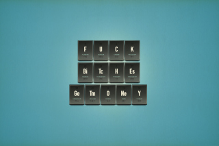 Funny Chemistry Periodic Table Background for Android, iPhone and iPad