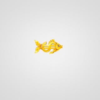 Money Fish - Obrázkek zdarma pro iPad