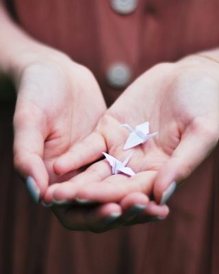 Origami Birds - Obrázkek zdarma pro Nokia X6