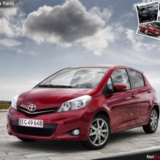 Toyota Yaris 2012 - Obrázkek zdarma pro 320x320