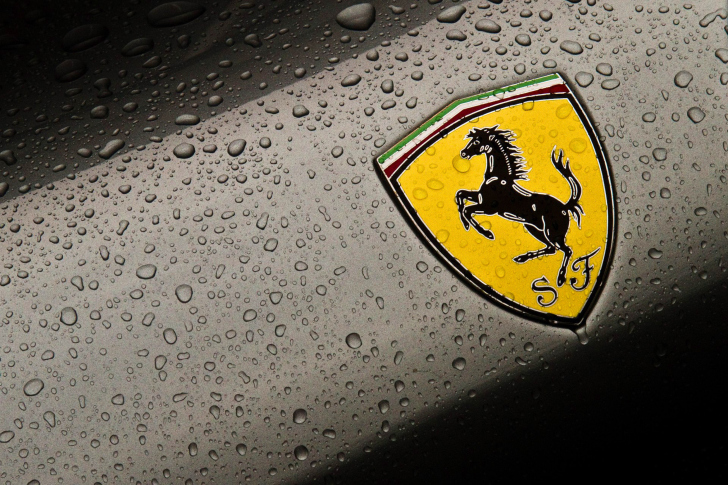 Ferrari Logo Image wallpaper
