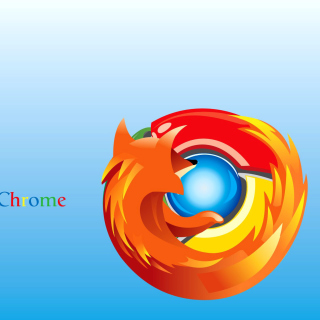 Mozilla Chrome - Obrázkek zdarma pro iPad