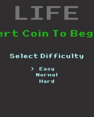 Insert Coin to Begin - Obrázkek zdarma pro iPhone 4S