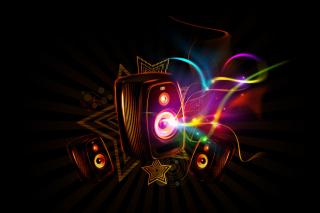 Dark Speakers - Obrázkek zdarma pro Sony Xperia E1