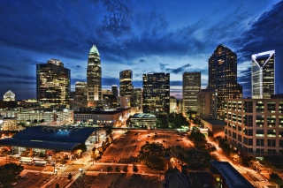 Charlotte, NC Background for Android, iPhone and iPad