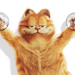 Garfield - Obrázkek zdarma pro iPad 3