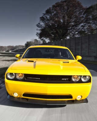 Dodge Challenger SRT8 392 Wallpaper for Nokia Asha 306