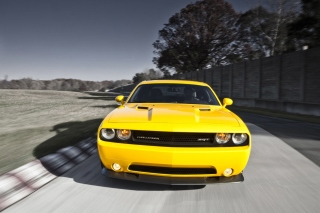 Dodge Challenger SRT8 392 Background for Samsung Galaxy Tab 4