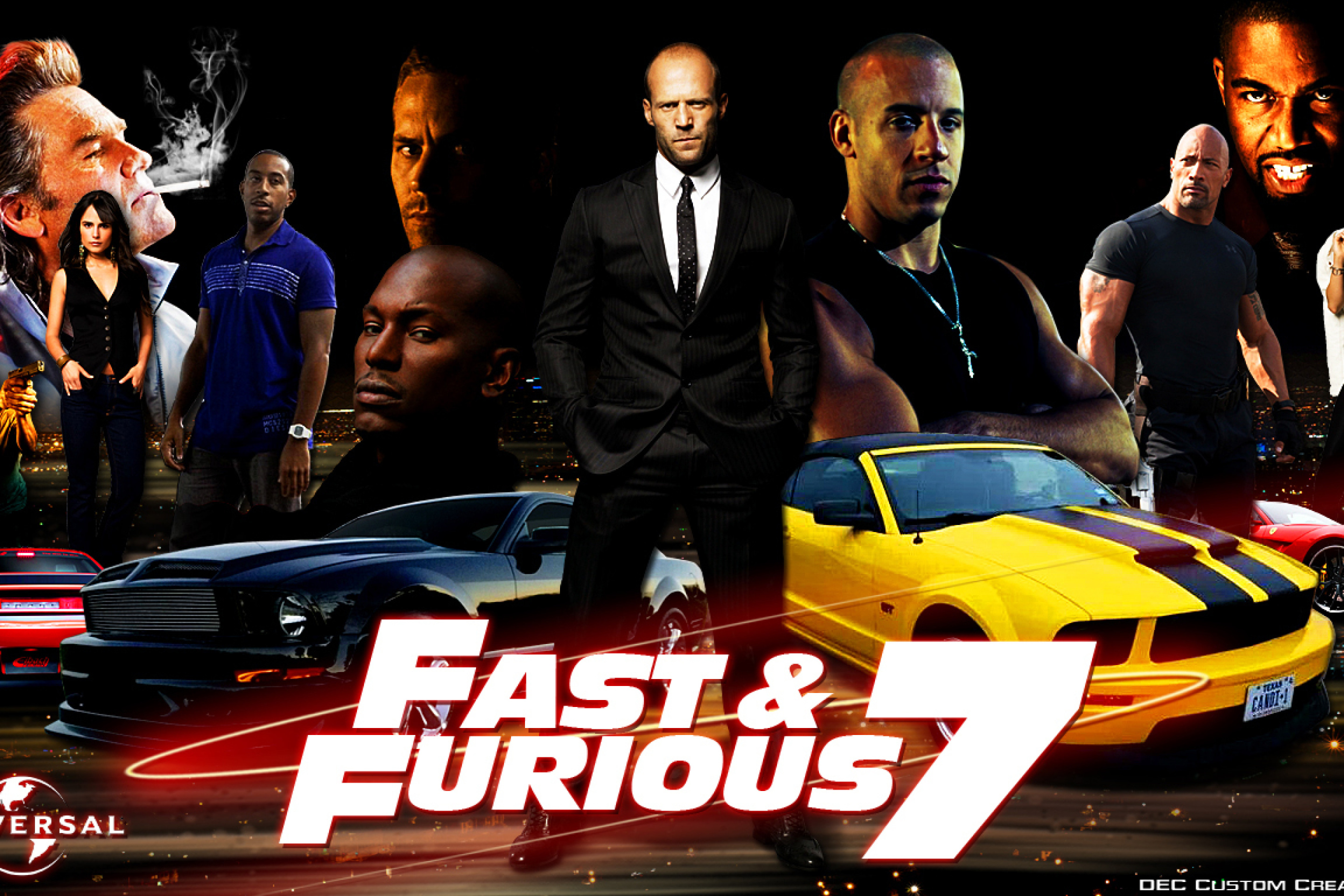fast and furious 7 - HD2880×1920