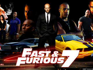Screenshot №1 pro téma Fast and Furious 7 Movie 320x240