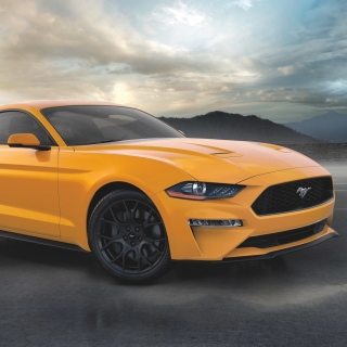 Ford Mustang Coupe Wallpaper for iPad mini