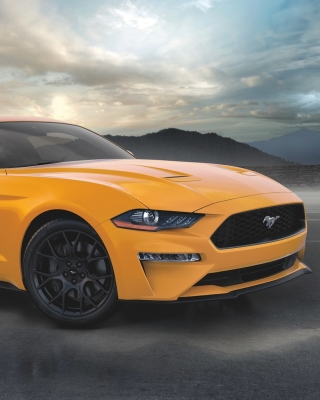Ford Mustang Coupe Wallpaper for Nokia C5-06