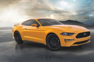 Ford Mustang Coupe Picture for Android, iPhone and iPad