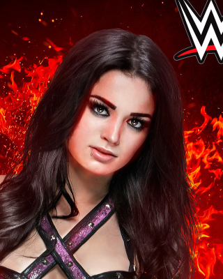 WWE 2K15 Paige Picture for iPhone 3G