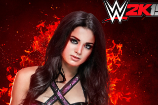 WWE 2K15 Paige Wallpaper for Android, iPhone and iPad