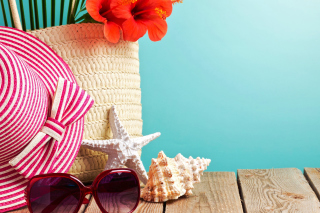Summer Accessory Trends Wallpaper for Android, iPhone and iPad
