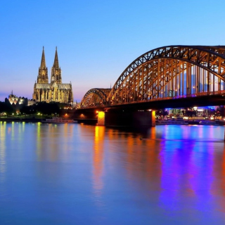 Cologne Cathedral HDR sfondi gratuiti per iPad Air