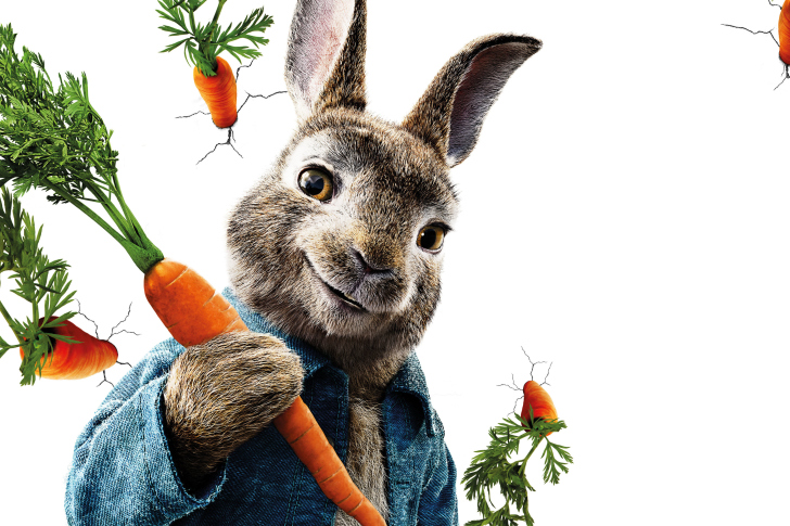 Fondo de pantalla Peter Rabbit 2018